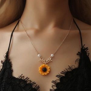 3 for $20 Sunflower Necklace